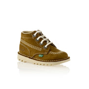 Kickers - Boys Tan Classic Kick - WHIZZKID.COM