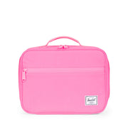 Herschel Pink Reflective Lunch Box Bag