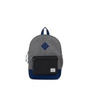 Herschel Heritage Raven and Blue Backpack