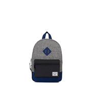 Herschel Heritage Raven Crosshatch and Black Backpack
