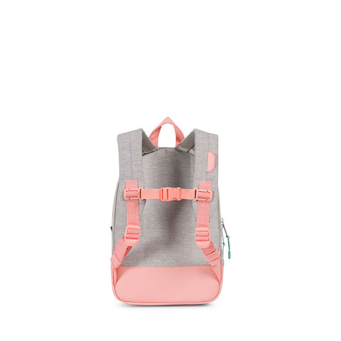Herschel Heritage Grey and Pink Backpack