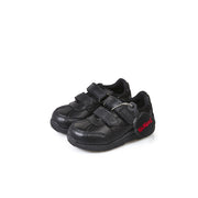 Boy's Kickers Black Moakie Reflex Shoes