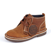 Adlar Brown Leather Desert Boots