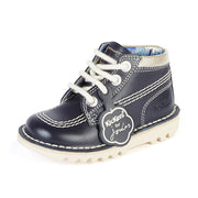 Kick HI Leather Kickers/Joules Navy/Navy Shoes