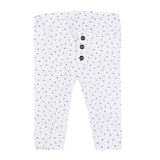 Baby's Absorba Star Leggings White