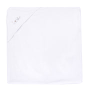 Absorba White Hooded Baby Towel