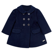 Girl's Mayoral Coat Navy