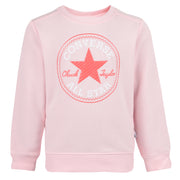 Girl's Converse Chuck Patch Crew Neck Arctic Punch