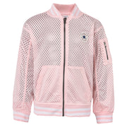 Girl's Converse Mesh Bomber Arctic Punch