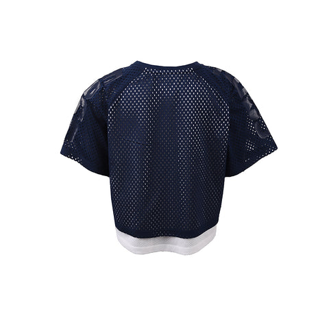 Girl's Converse Double Layer Mesh Raglan Obsidian
