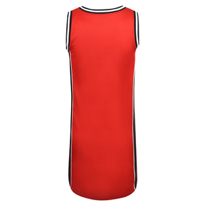 Girl's Converse Basketball Jersey Dress Enamel Red