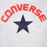 Girl's Converse Star Trim Tee  Lunar Rock Heather