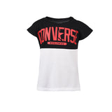 Girl's Converse Worldwide Femme Tee Black