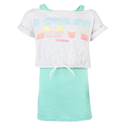Girl's Converse Summer Love -Fer Tank Lunar Rock Heather