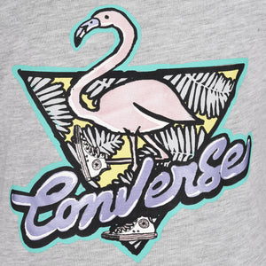 Girl's Converse Flamingo Tee Lunar Rock Heather