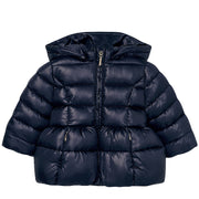 Girl's Mayoral Basic Padded Jacket Navy