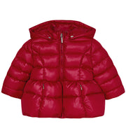 Girl's Mayoral Basic Padded Jacket Red