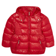 Girl's Mayoral Basic School Jacket Red