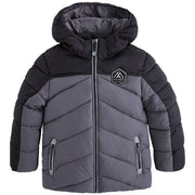 Boy's Mayoral Padded Coat Grey