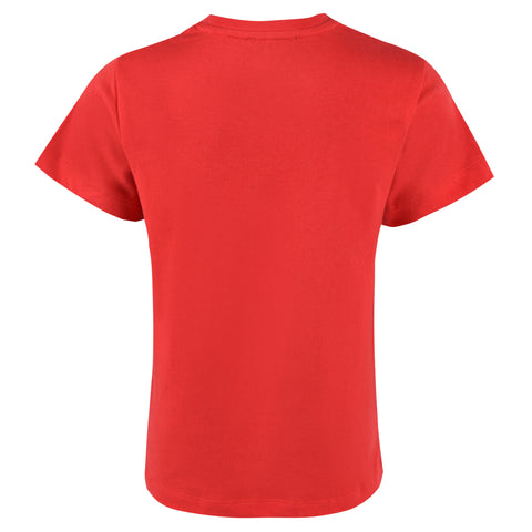 Boy's Lanvin Logo Red T-Shirt