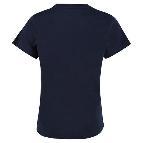Boy's Lanvin Blue T-Shirt with large L Logo