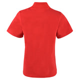 Boy's Lanvin Koi Carp Red Polo