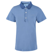 Boy's Lanvin Grosgain Collar Sky Polo