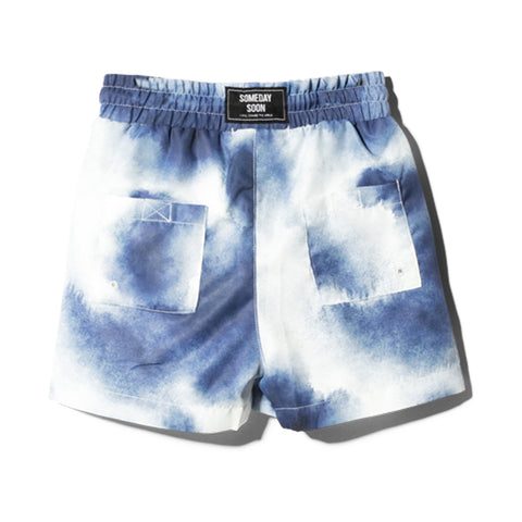 Boy's Someday Soon Splash Blue Swimshorts