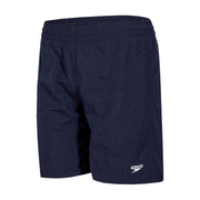 "Boy's Speedo Navy Solid Leisure 15"" Water Shorts"