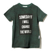 Boy's Someday Soon Someday Green T-Shirt