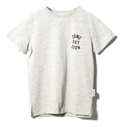 Boy's Someday Soon Revolution Grey T-Shirt