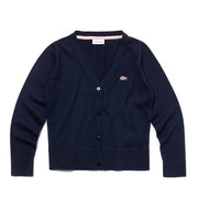 Girl's Lacoste Sweater Navy