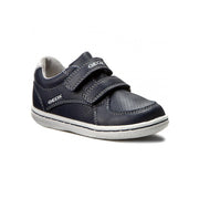 Boy's Geox Navy & White Baby Velco Sneakers