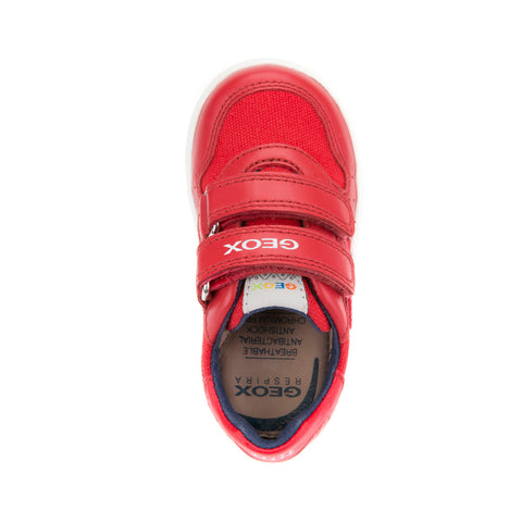 Boy's Geox Red Trainers