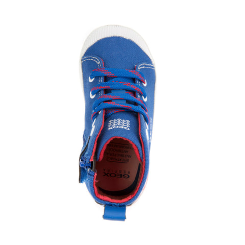 Boy's Geox Canvas Dinosaur Trainers