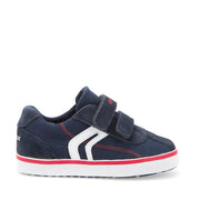 Boy's Geox Navy Canvas Shoes