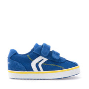 Boy's Geox Blue Canvas Shoes