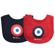 Ben Sherman - Boys 2-Pack Core Bib Set Red - WHIZZKID.COM