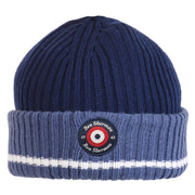 Boy's Ben Sherman Rib Knit Beanie Blue