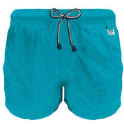 Boy's Mc2 Saint Barth Blue Prime Pantone Swim Short With Pocket
