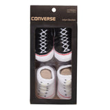 Unisex Converse Unisex Core Two-Pack Booties Black