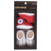 Unisex Converse 2 Pairs Booties Red