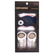 Unisex Converse 2 Pairs Booties Navy