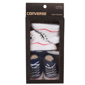 Converse - Unisex Two-Pack Booties Navy - WHIZZKID.COM