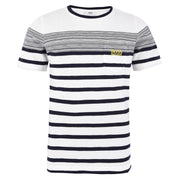 Boy's Hugo Boss Blue and White Short Sleeve T-Shirt