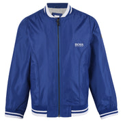 Boy's Hugo Boss Electric Blue Bomber Jacket