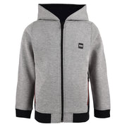 Boy's Hugo Boss Light Grey Marl Hoodie