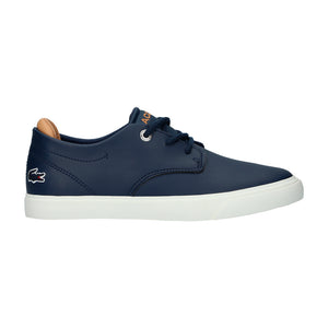 Boy's Lacoste Esparre Navy/Tan Trainers