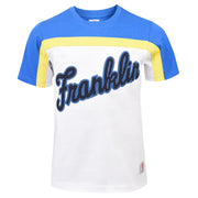 Boy's Franklin & Marshall Franklin Logo Tee White
