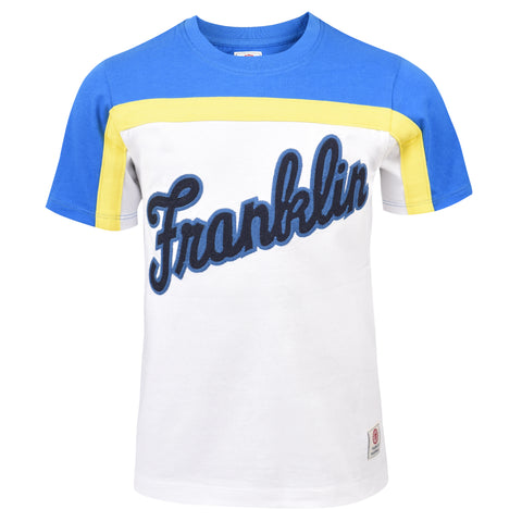 Franklin and Marshall Logo Tee Black